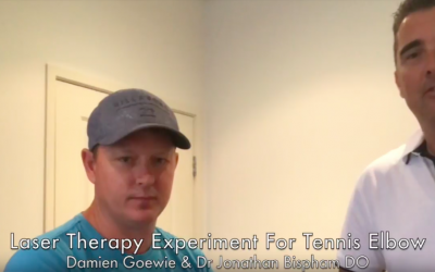 [Video] High-intensity laser therapy that didn't go quite as expected